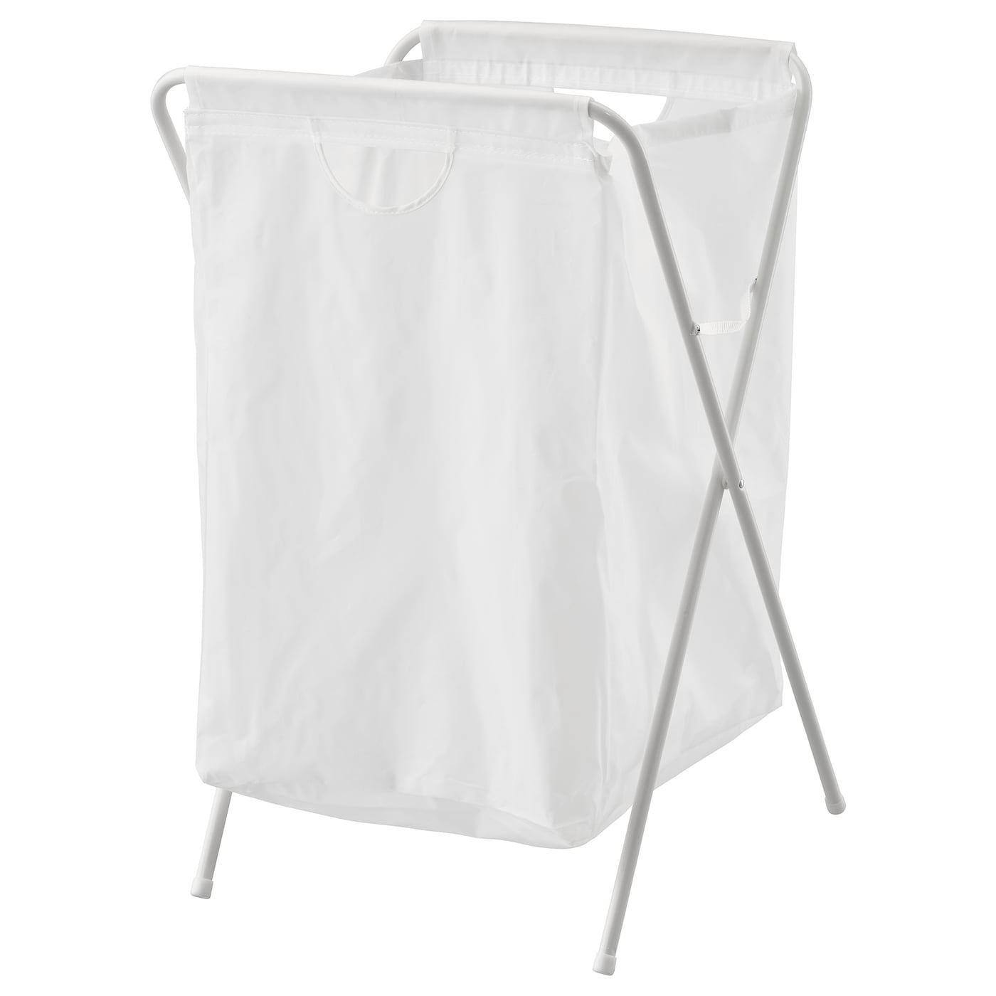 JÄll Laundry Bag With Stand White Ikea
