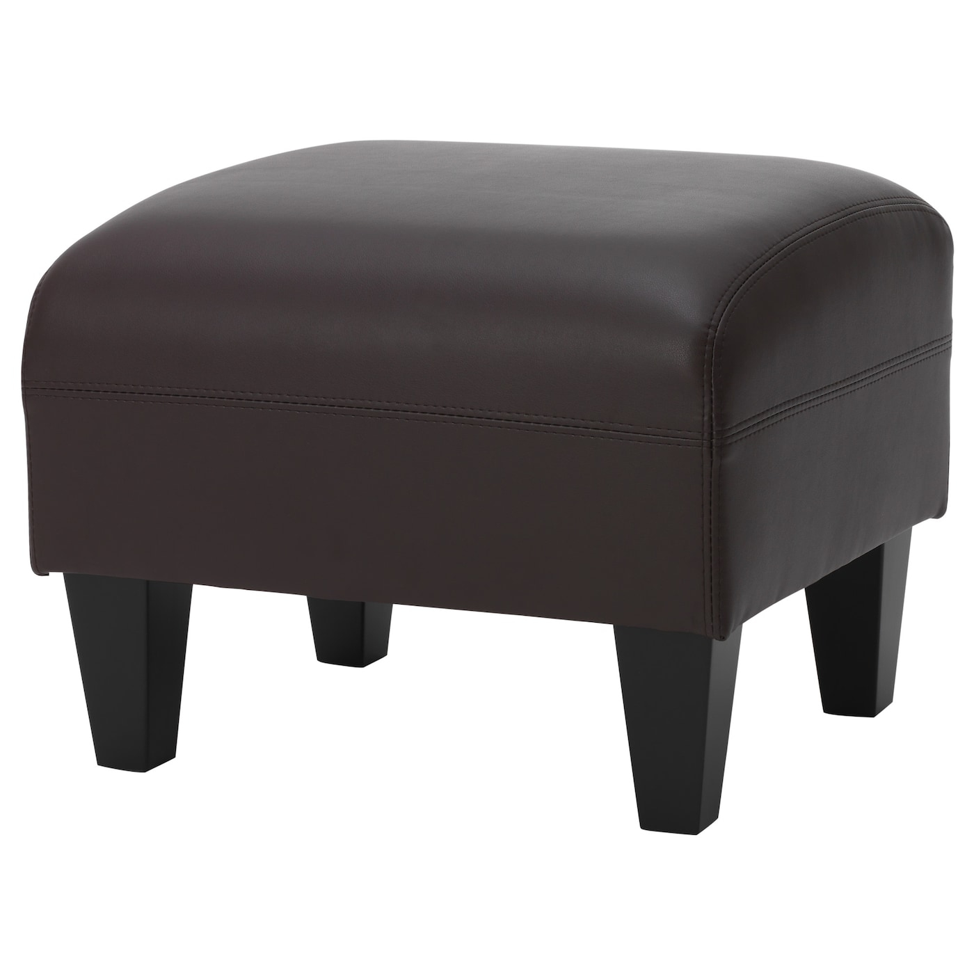 Swell Ottoman Jappling Kimstad Dark Brown Evergreenethics Interior Chair Design Evergreenethicsorg