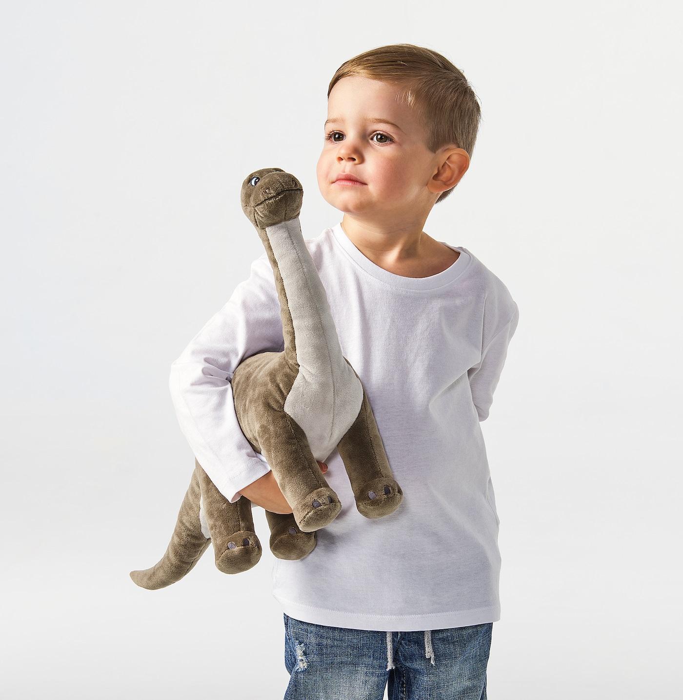 ❤️IKEA JATTELIK DINOSAUR STEGOSAURUS Large Soft Stuffed Animal