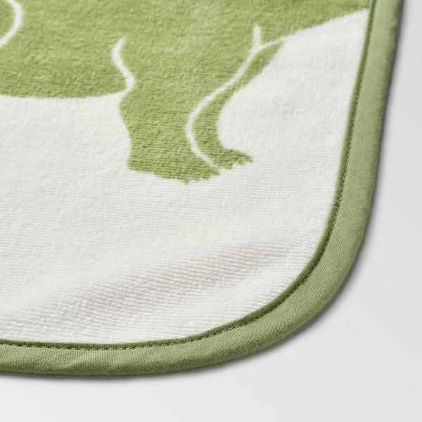 """JÄTTELIK Towel with hood, dinosaur/multicolor, 55x28 """""""