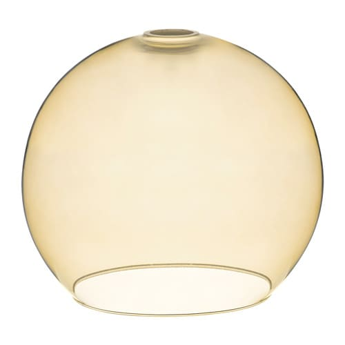 JAKOBSBYN Pendant lamp shade, light brown