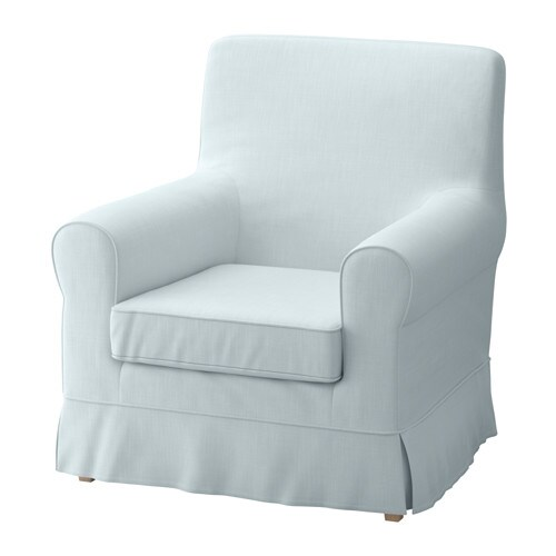 jennylund chair cover nordvalla light blue ikea. Black Bedroom Furniture Sets. Home Design Ideas