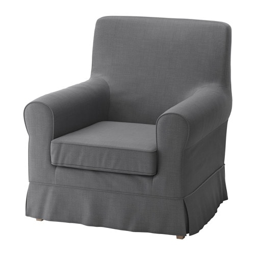 jennylund chair cover nordvalla dark gray ikea. Black Bedroom Furniture Sets. Home Design Ideas