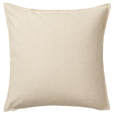 "JOFRID Cushion cover, natural, 26x26 """