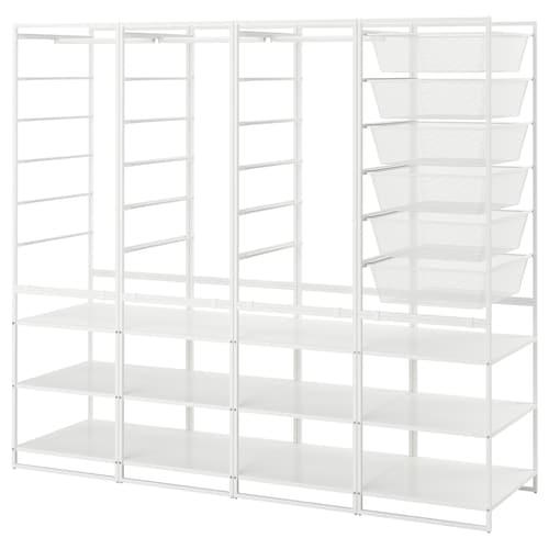 IKEA JONAXEL Frame/mesh baskts/clths rl/shlv uts