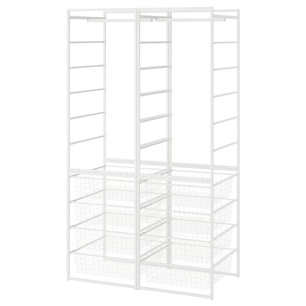 IKEA JONAXEL Frame/wire baskets/clothes rails