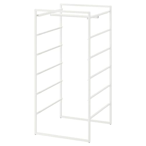 IKEA JONAXEL Frame with clothes rail