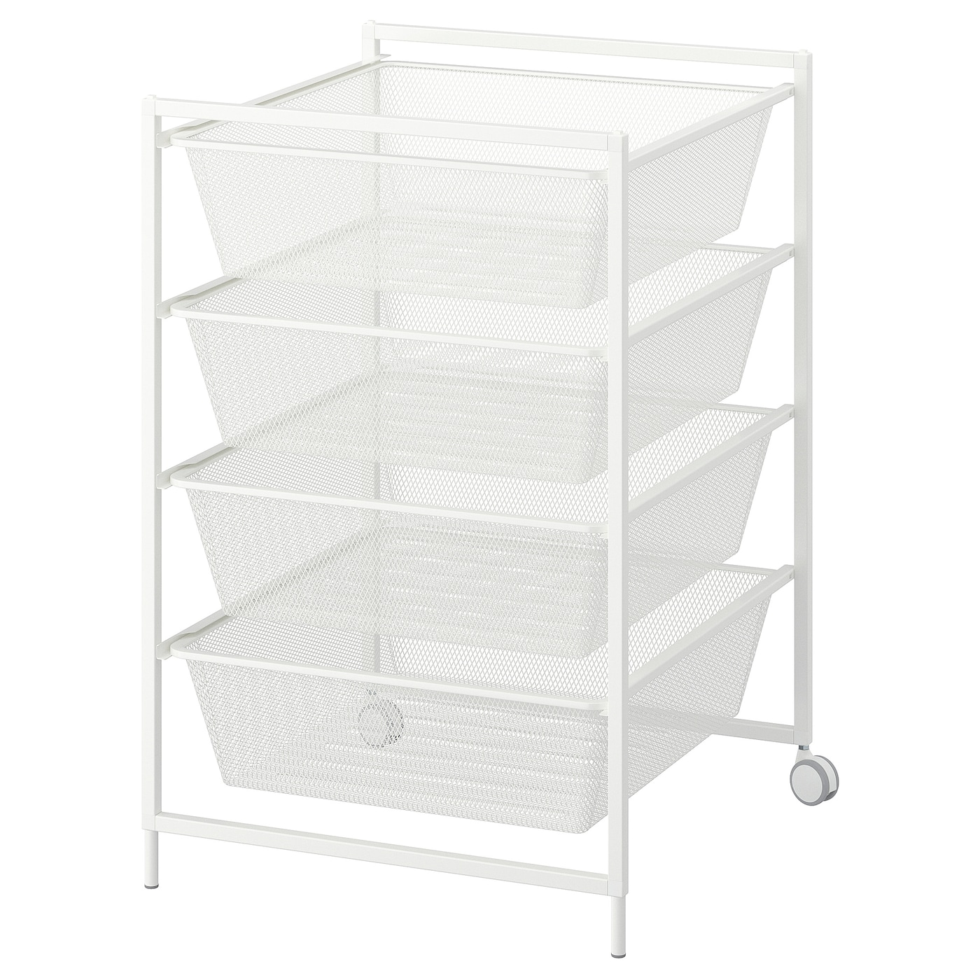 Jonaxel Frame With Mesh Baskets Casters Ikea