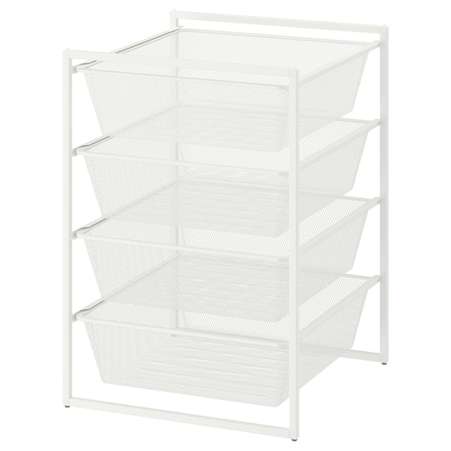 IKEA JONAXEL Frame with mesh baskets