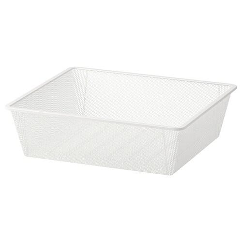 """JONAXEL mesh basket white 19 5/8 """" 20 1/8 """" 5 7/8 """" 20 1/8 """" 19 5/8 """" 15 lb"""