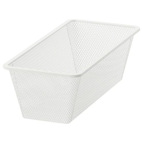 """JONAXEL mesh basket white 9 7/8 """" 20 1/8 """" 5 7/8 """" 20 1/8 """" 9 7/8 """" 7 lb"""