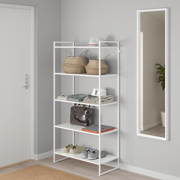 """JONAXEL Shelf unit, white, 31 1/2x15x63 """""""