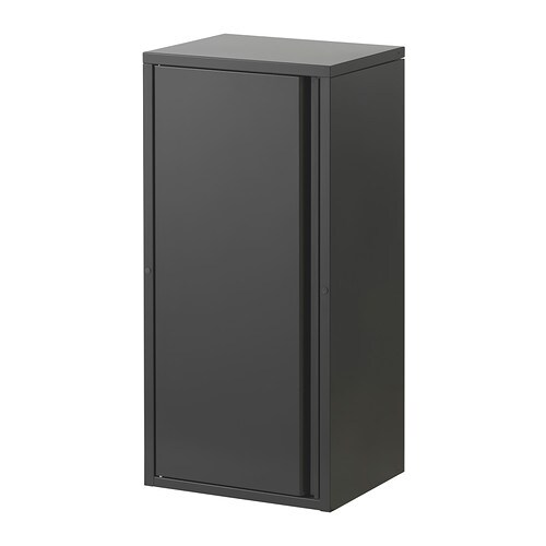 Josef cabinet dark gray ikea for Armoire exterieur ikea