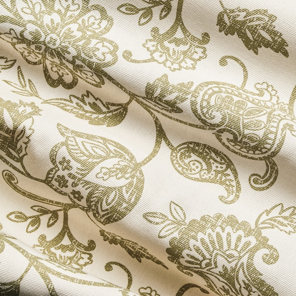 "JUNIMAGNOLIA Fabric, natural/green, 59 """