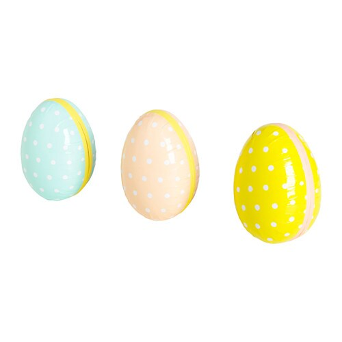 KACKLING Easter egg, dotted assorted colors