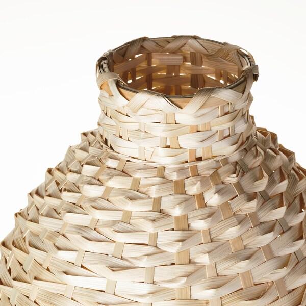 "KAFFEBÖNA Decorative vase, bamboo, 18 """