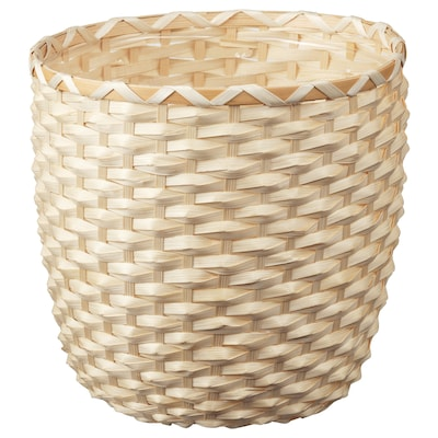 "KAFFEBÖNA plant pot bamboo 10 ¼ "" 10 ¾ "" 9 ½ "" 9 ¾ """