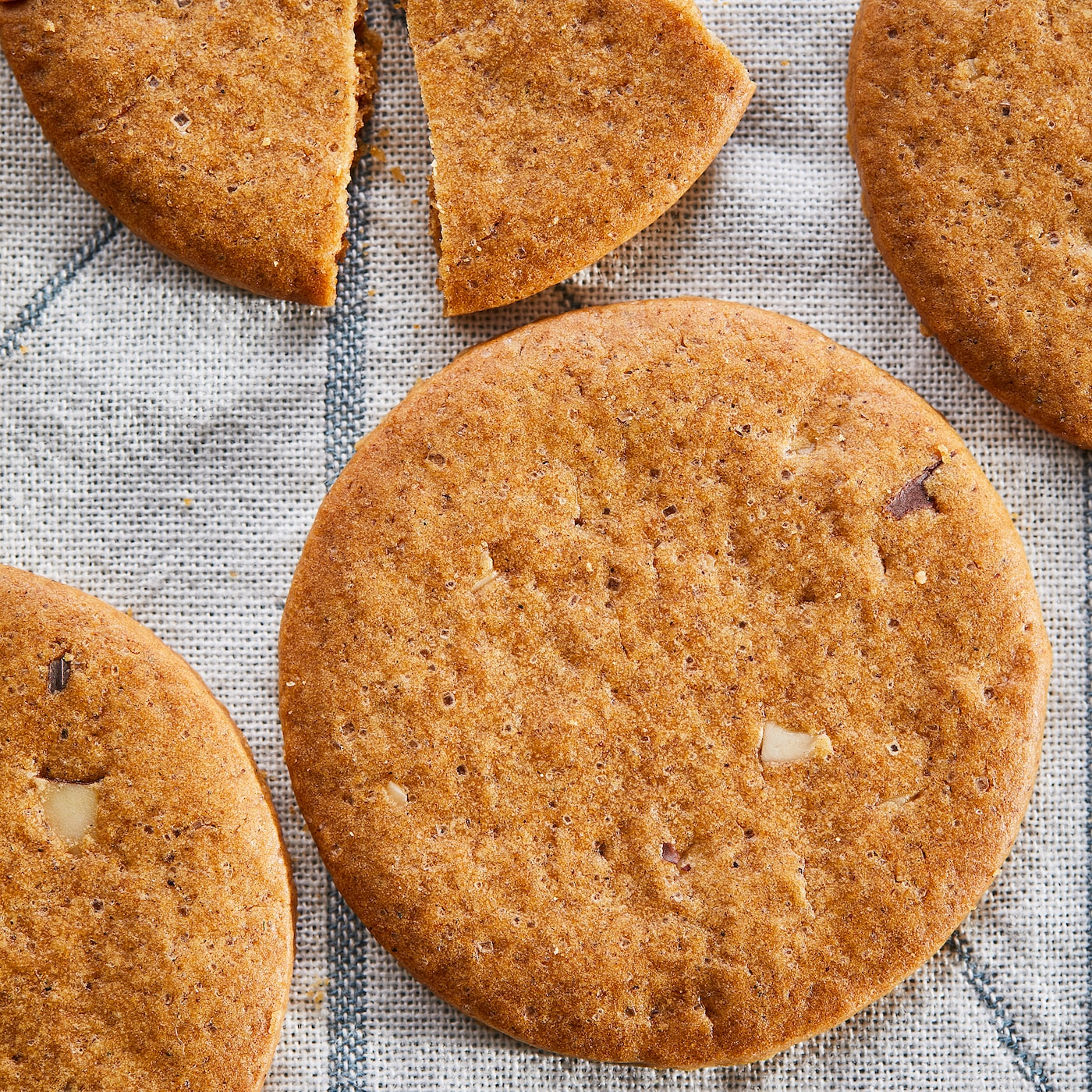 KAFFEREP Ginger thins with almonds