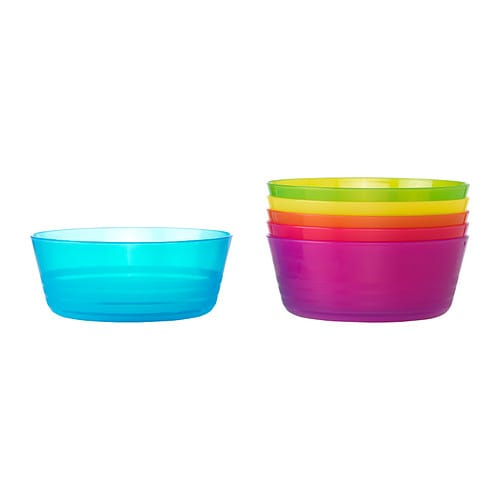 KALAS Bowl IKEA Great for parties and everyday meals. Made of durable plastic and safe to use in the dishwasher and microwave.