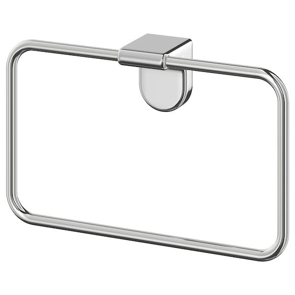KALKGRUND Towel hanger, chrome plated