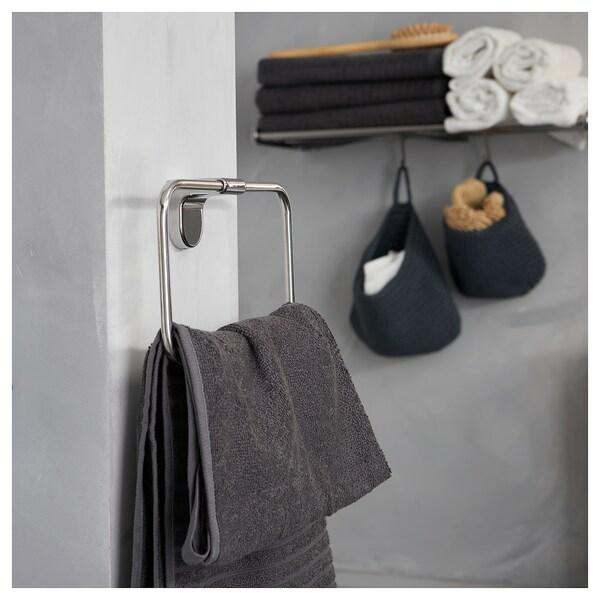 "KALKGRUND towel hanger chrome plated 1 7/8 "" 5 1/8 """