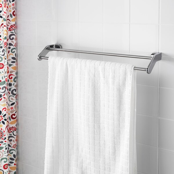 "KALKGRUND towel rail chrome plated 24 ¾ "" 5 ½ """