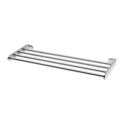 Kalkgrund wall shelf with towel rail ikea - Etagere murale design ikea ...
