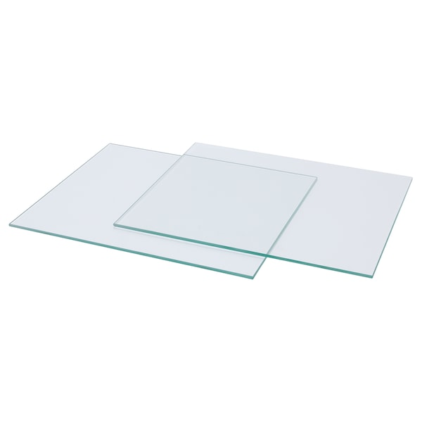 "KALLAX glass shelf 13 "" 15 "" 1/4 "" 2 pack"