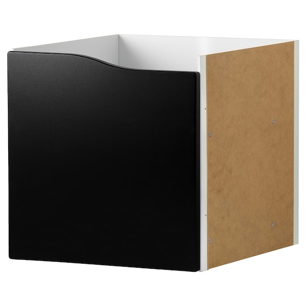 "KALLAX insert with door blackboard surface 13 "" 14 5/8 "" 13 """