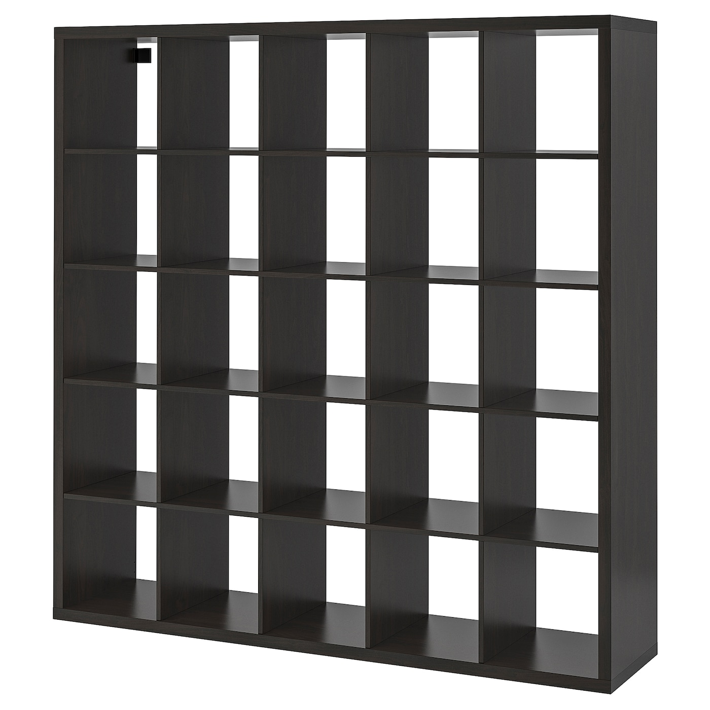 Ikea KALLAX Shelf unit, black-brown, 71 5/8x71 5/8