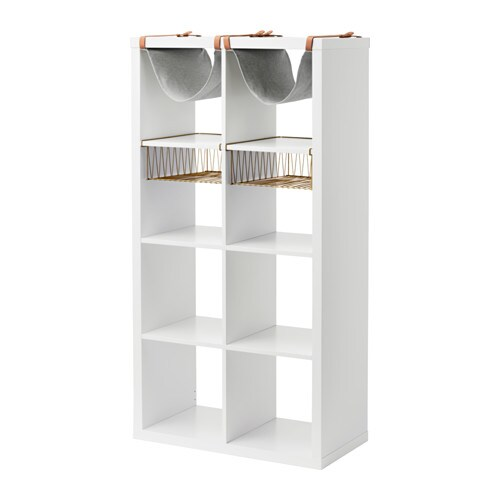 KALLAX Shelf unit with 4 inserts IKEA You can use the inserts to