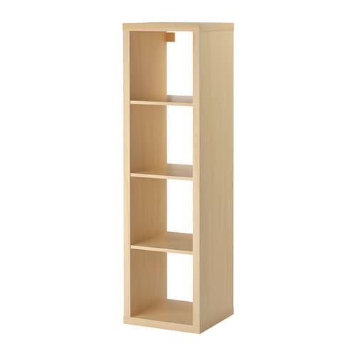 Ikea Regal Kallax kallax shelf unit birch effect 16 1 2x57 7 8 ikea