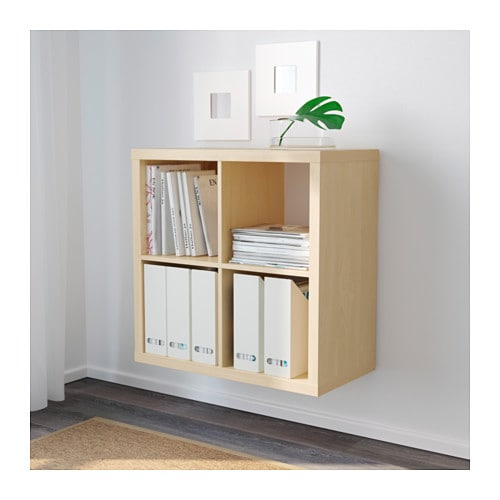 kallax shelf unit birch effect ikea. Black Bedroom Furniture Sets. Home Design Ideas