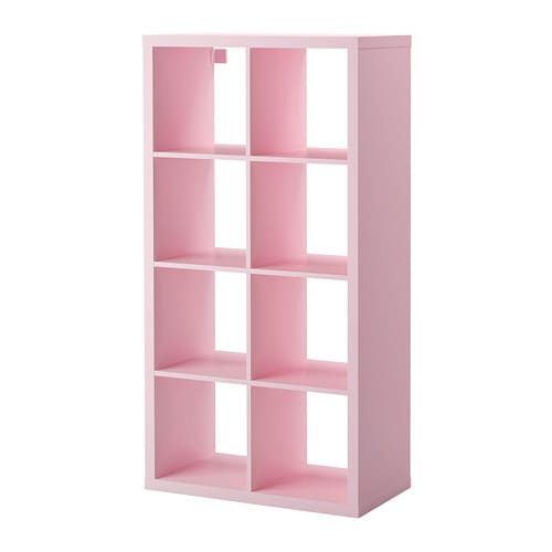 Kallax shelving unit pink  0243991 pe383240 s4