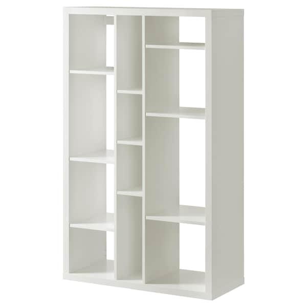 "KALLAX shelf unit 33 7/8 "" 15 3/8 "" 57 7/8 "" 29 lb"