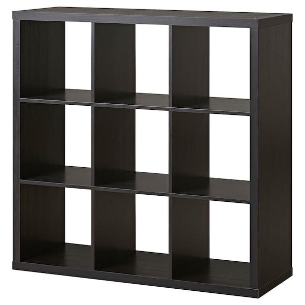 Kallax Shelf Unit Black Brown 44 1