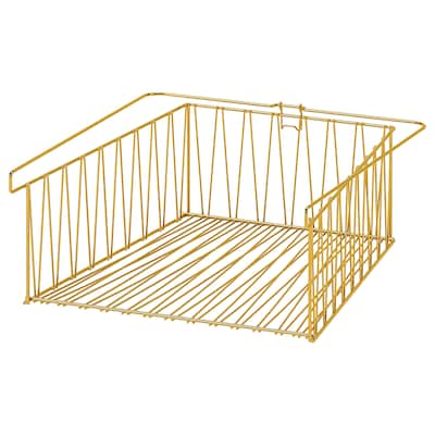 KALLAX Wire basket, brass color, 15 3/4x13 ""