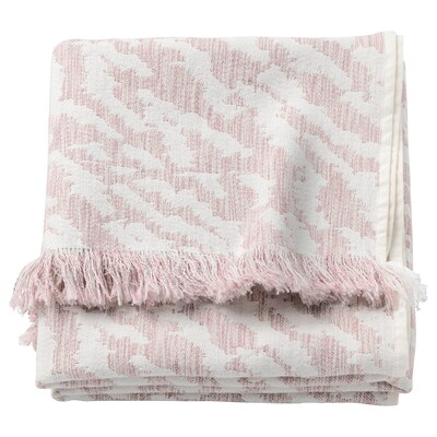 "KAPASTER throw off-white/pink 67 "" 51 """