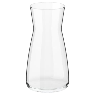KARAFF Carafe, clear glass, 34 oz
