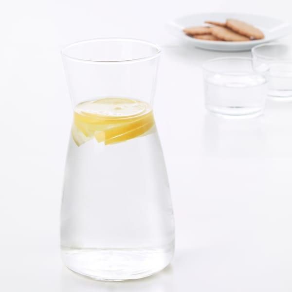 KARAFF Carafe, clear glass, 34 oz
