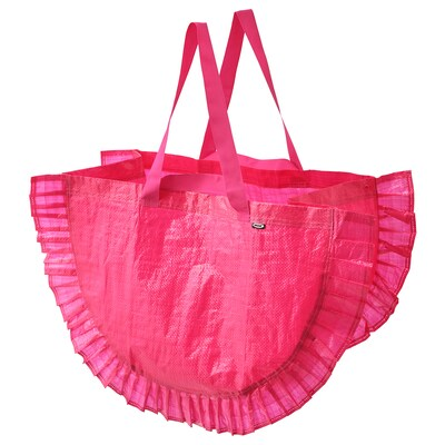 KARISMATISK Shopping bag, large, pink, 16 gallon