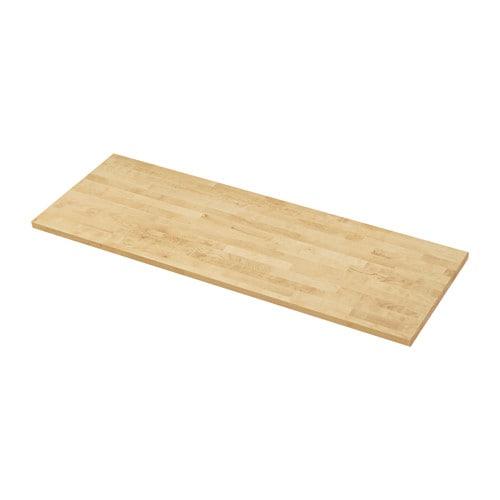 KARLBY Countertop, birch birch 74x1 1/2