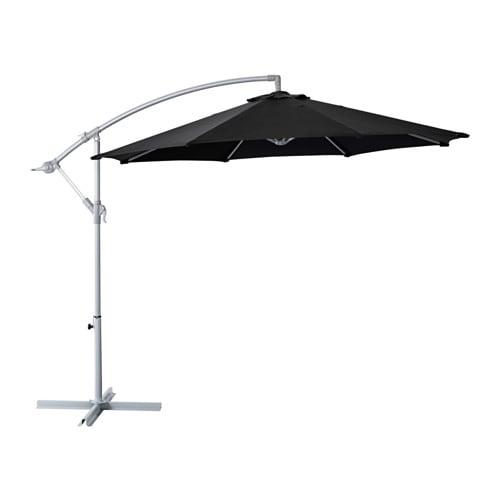 KARLSÖ - Umbrella, hanging, beige
