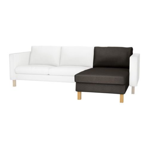 KARLSTAD Cover for add-on chaise longue IKEA A range of coordinated covers makes it easy for you to give your furniture a new look.