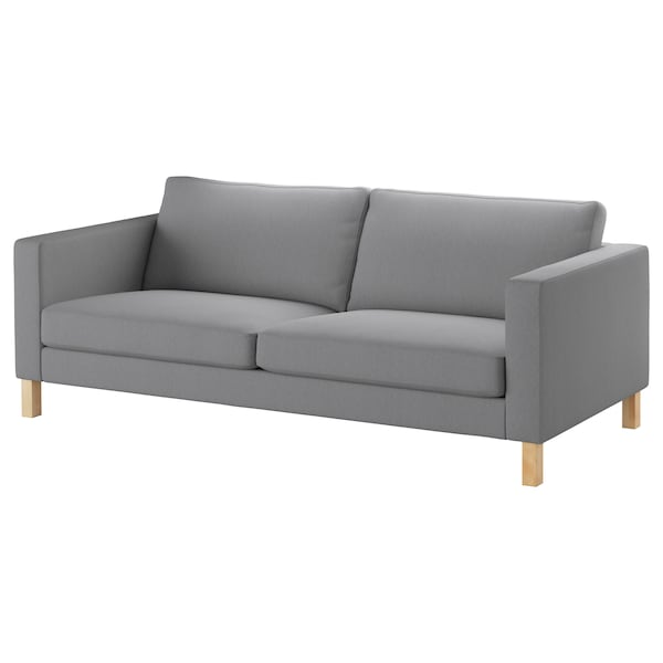 Sofa cover KARLSTAD Knisa light gray