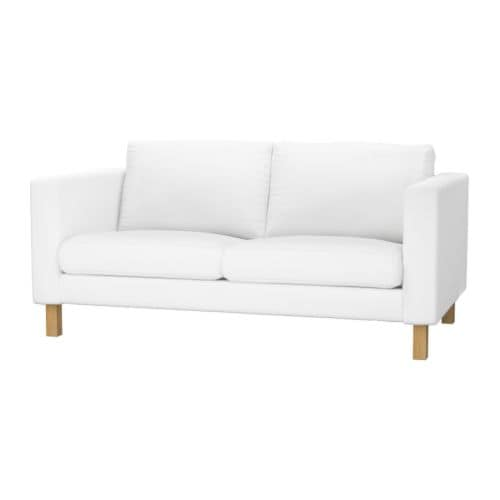 KARLSTAD Loveseat IKEA A range of coordinated covers makes it easy for