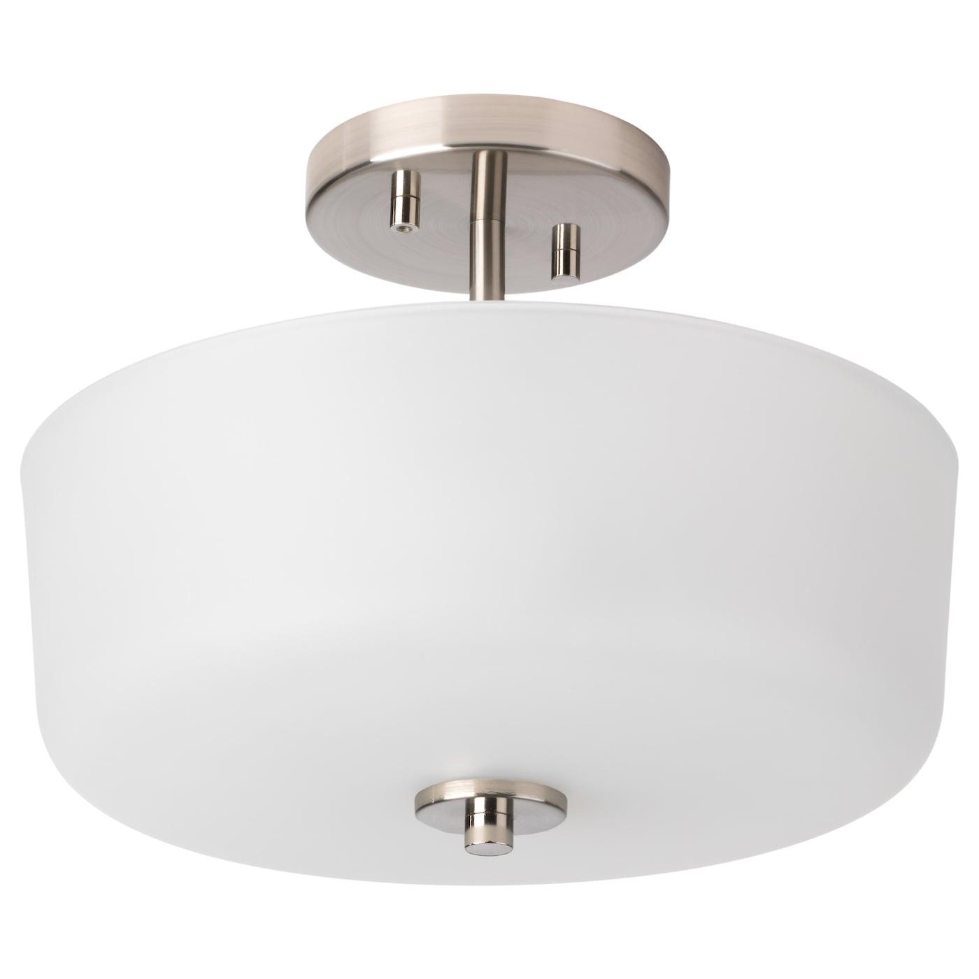 Karryd Ceiling Lamp Glass White Ikea