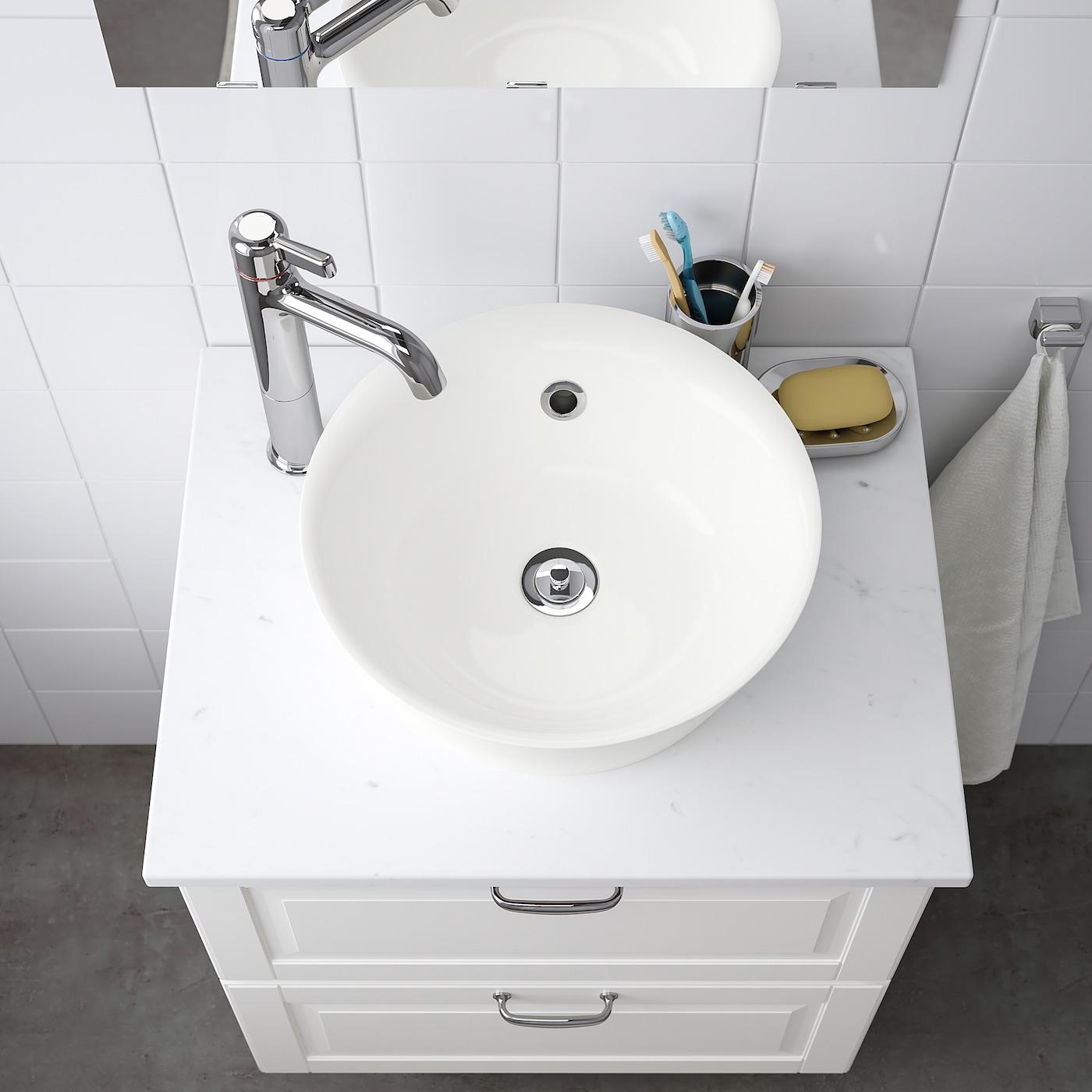 Kattevik Countertop Sink White 15 3 4