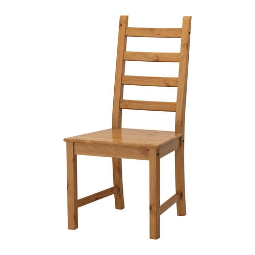 KAUSTBY Chair IKEA Solid pine is a natural material which ages ...
