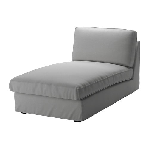 Kivik chaise orrsta light gray ikea for Chaise longue ikea